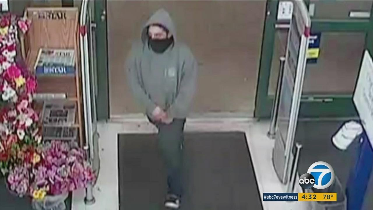 A clerk at CVS in Ventura was attacked during an armed robbery.