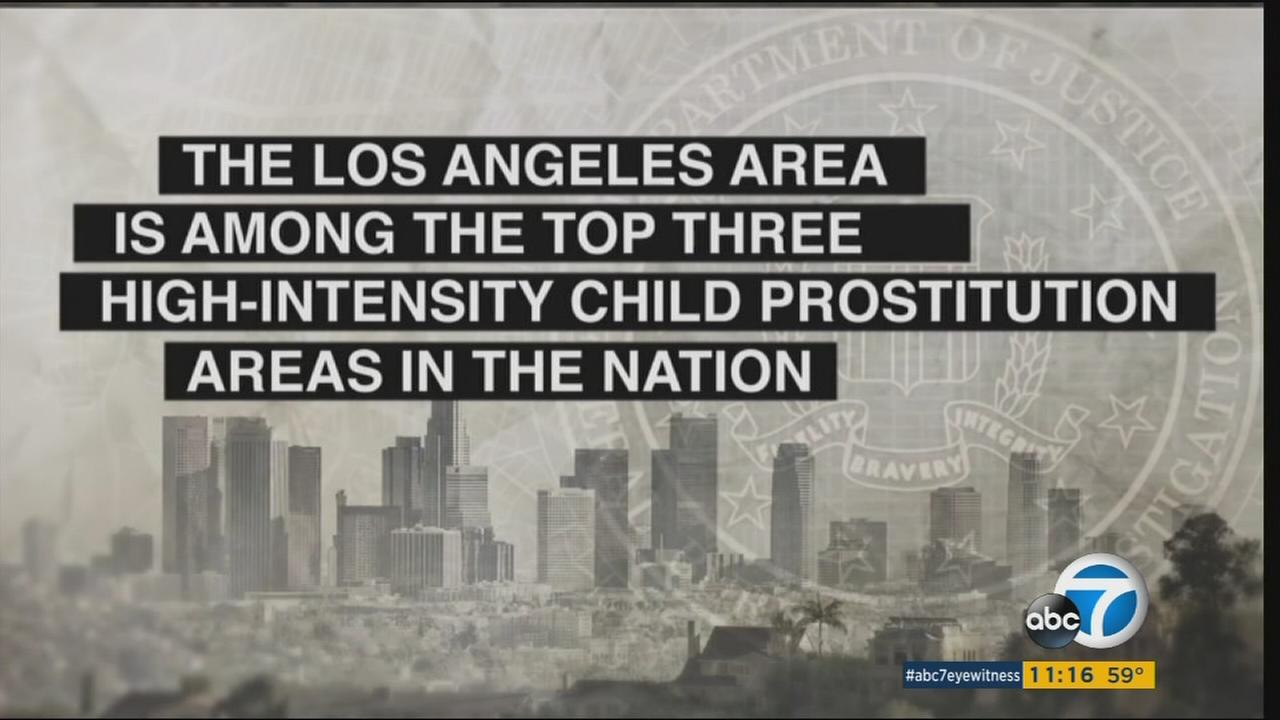 The Los Angeles Police Department more focused on rehabilitating victims of sex trafficking rather than simply prosecuting them.