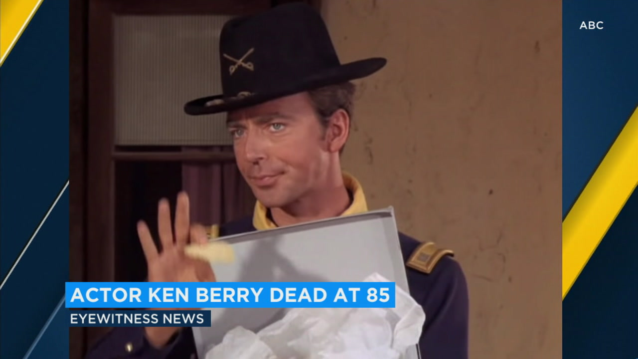 Ken Berry, a popular television actor who was on shows like Mamas Family and Mayberry RFD, has died at age 85.