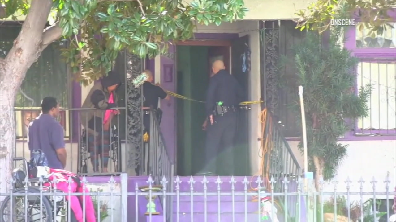 Authorities were at the scene of a death investigation after a child was found dead in a South Los Angeles home.