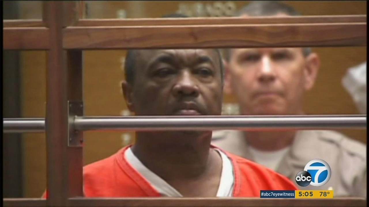 Lonnie Franklin Jr., labeled the Grim Sleeper, is accused of killing 10 females between 1985 and 2007.