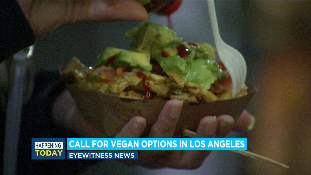 Proposal calls to require vegan option at Los Angeles entertainment venues