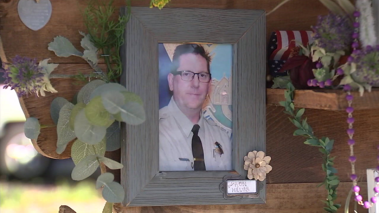 Ventura County sheriffs Sgt. Ron Helus is shown in a memorial photo.