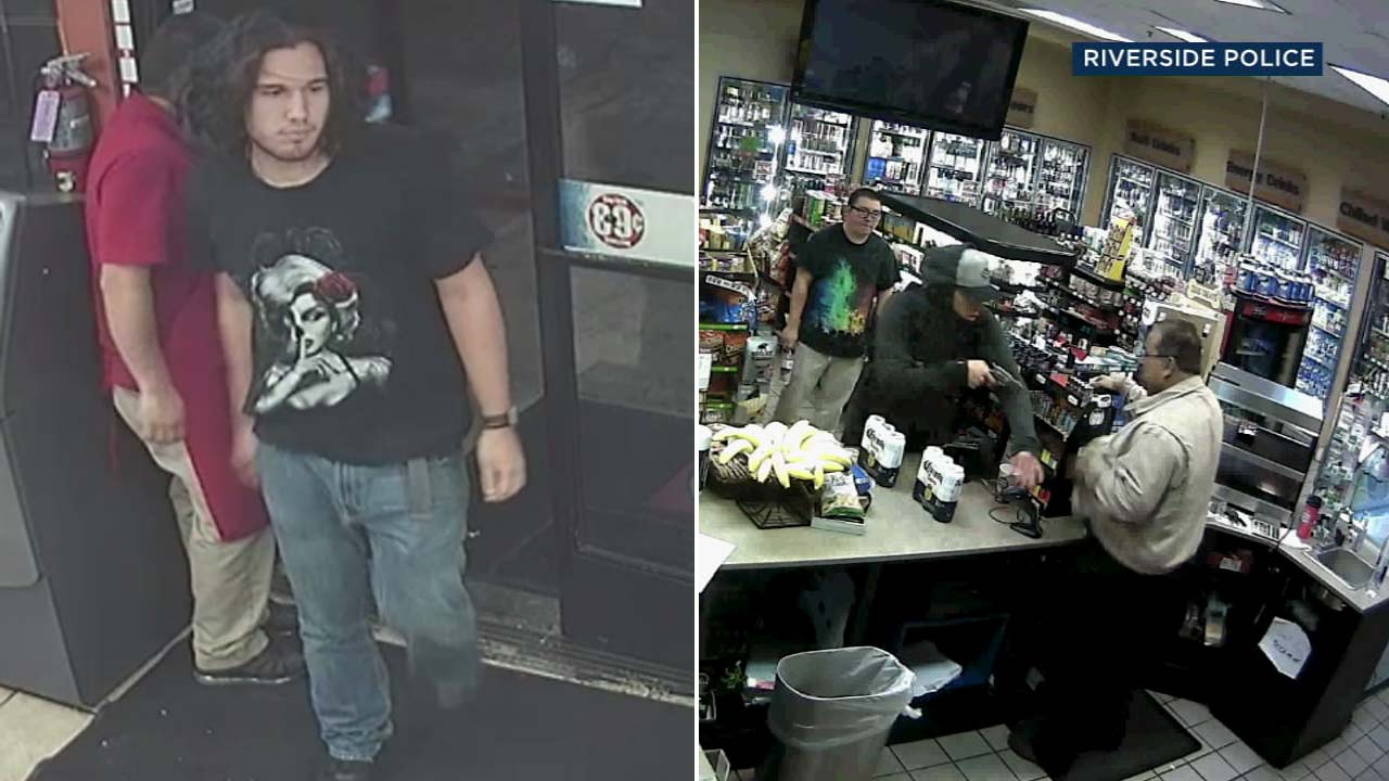 An armed robbery suspect, dubbed the Silver Revolver Bandit, is seen in surveillance video.