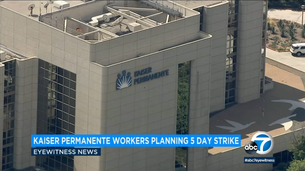 About 4,000 mental health employees plan to strike at Kaiser Permanente facilities across the state starting Monday.