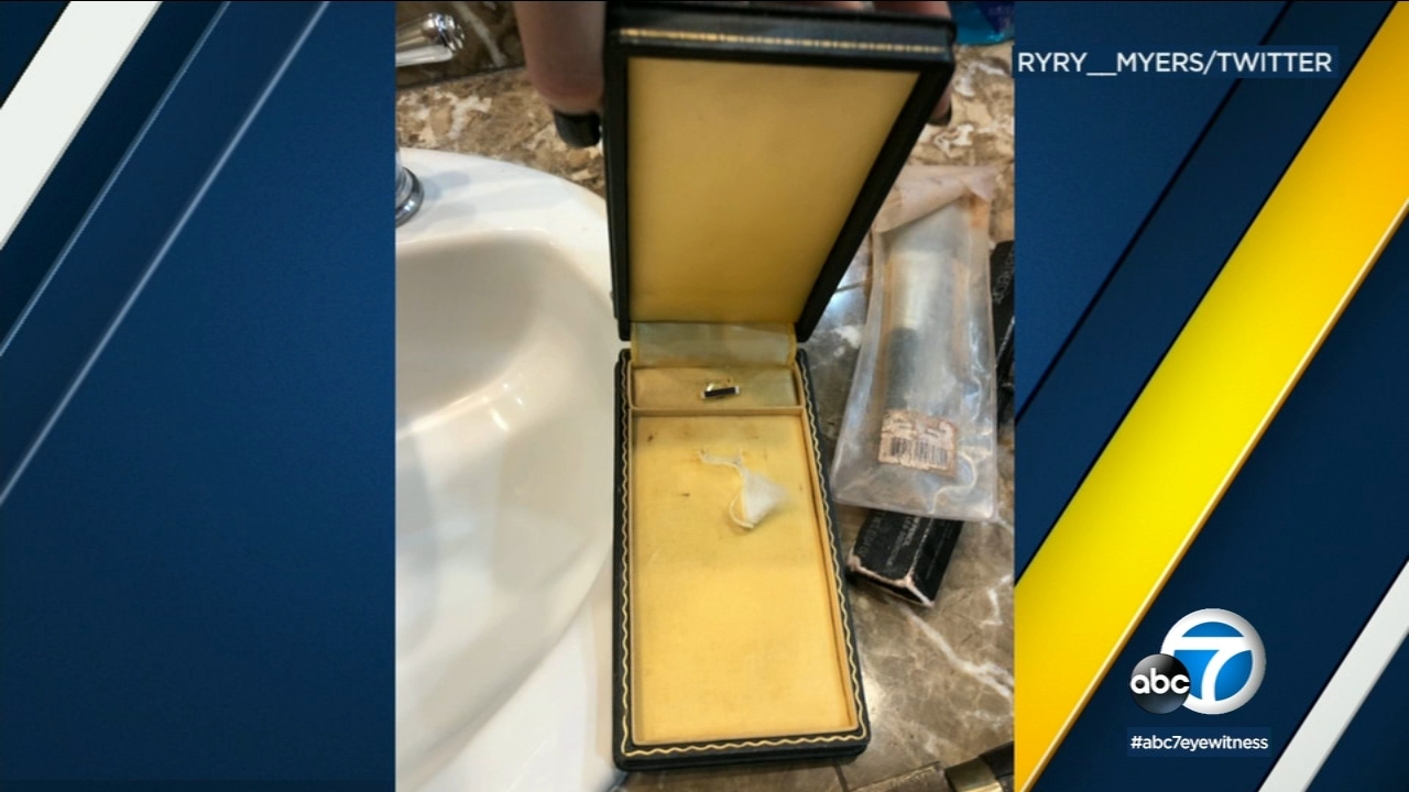 Thieves stole a Purple Heart medal from the Valencia home of the widow of a Vietnam veteran, along with a specially engraved watch she intended to pass on to her grandson.