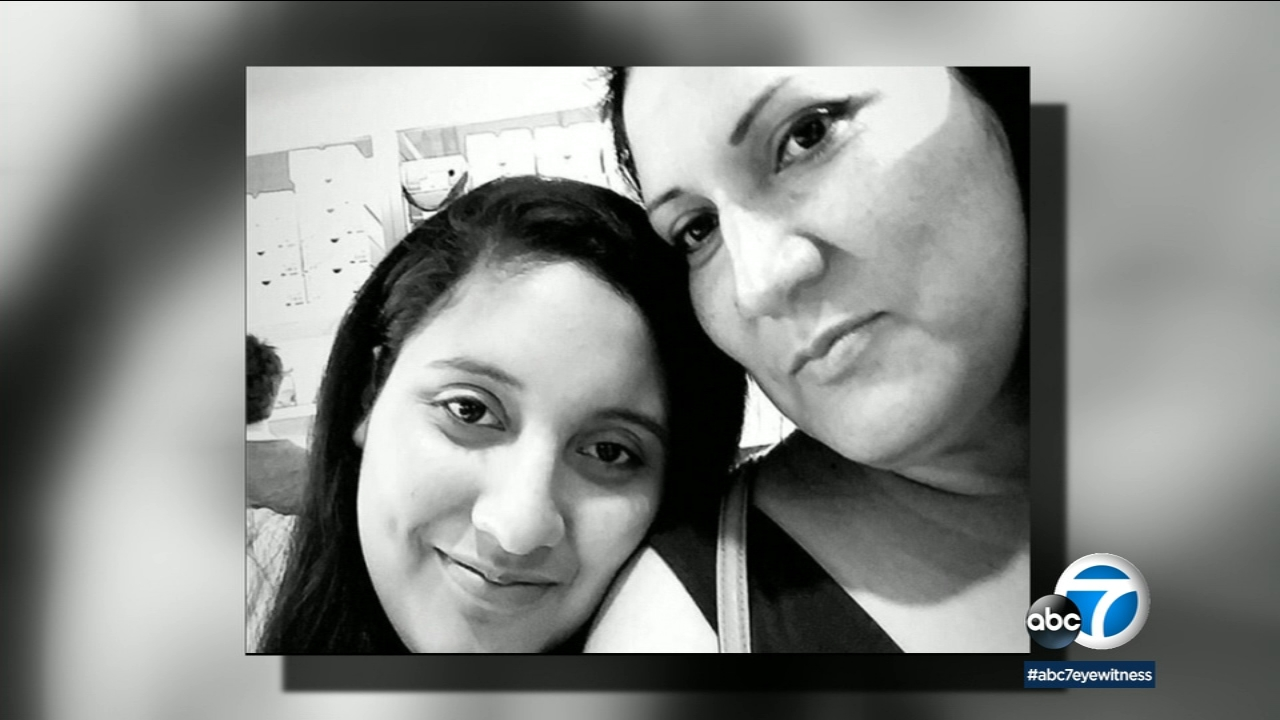 Cecilia Meza and her daughter Kelsey are seen in an undated photo.