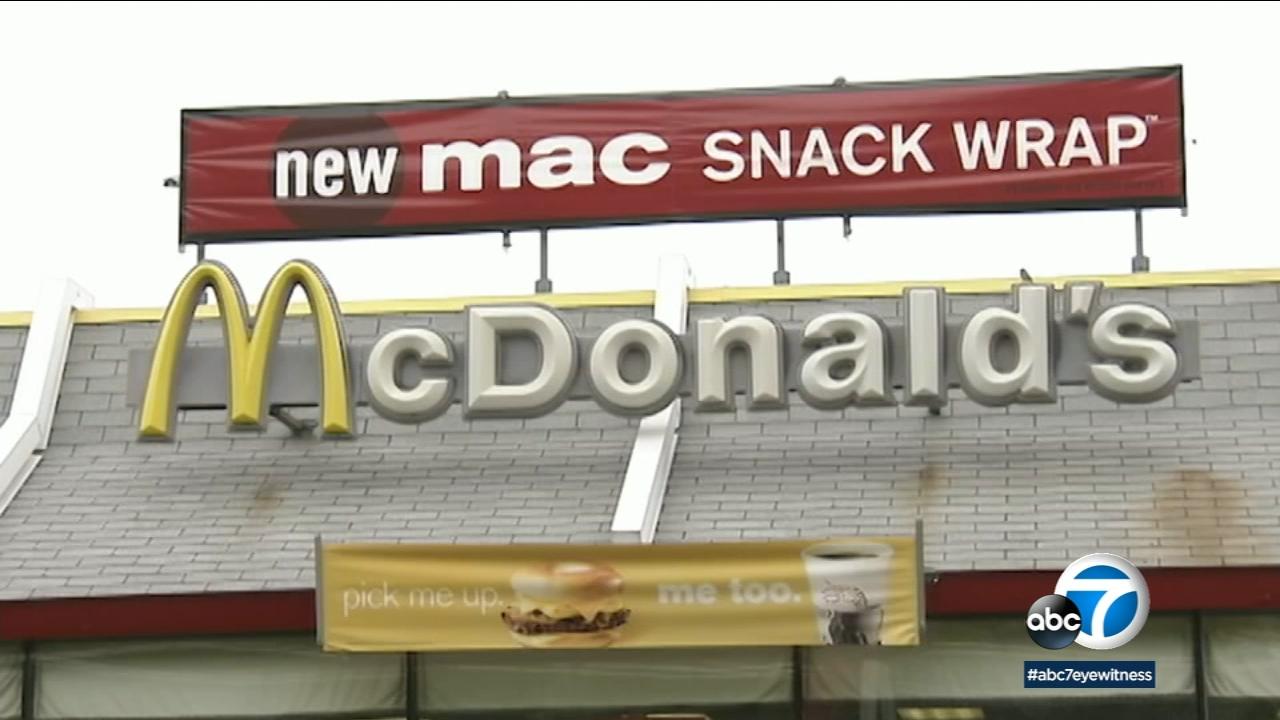 An undated photo of a McDonalds restaurant.