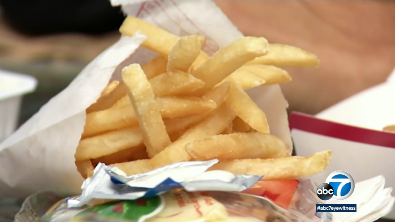 French fries are seen in this undated file photo.