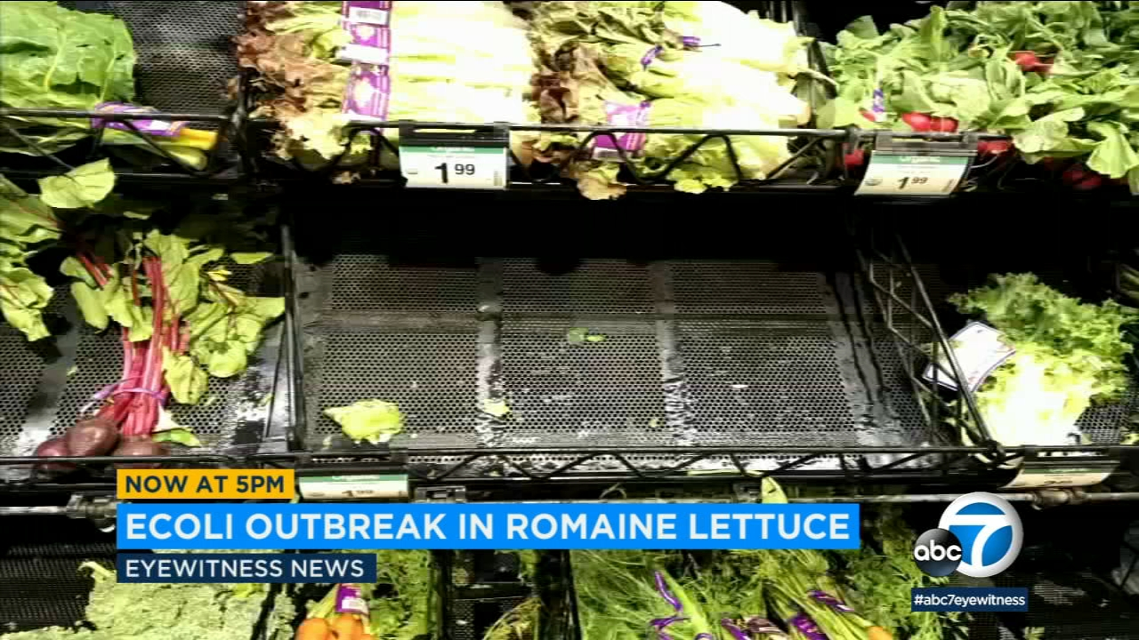 The FDA has revised its warning about romaine lettuce linked to an E. coli outbreak, eliminating three California counties from the list of possible origins of the contamination.