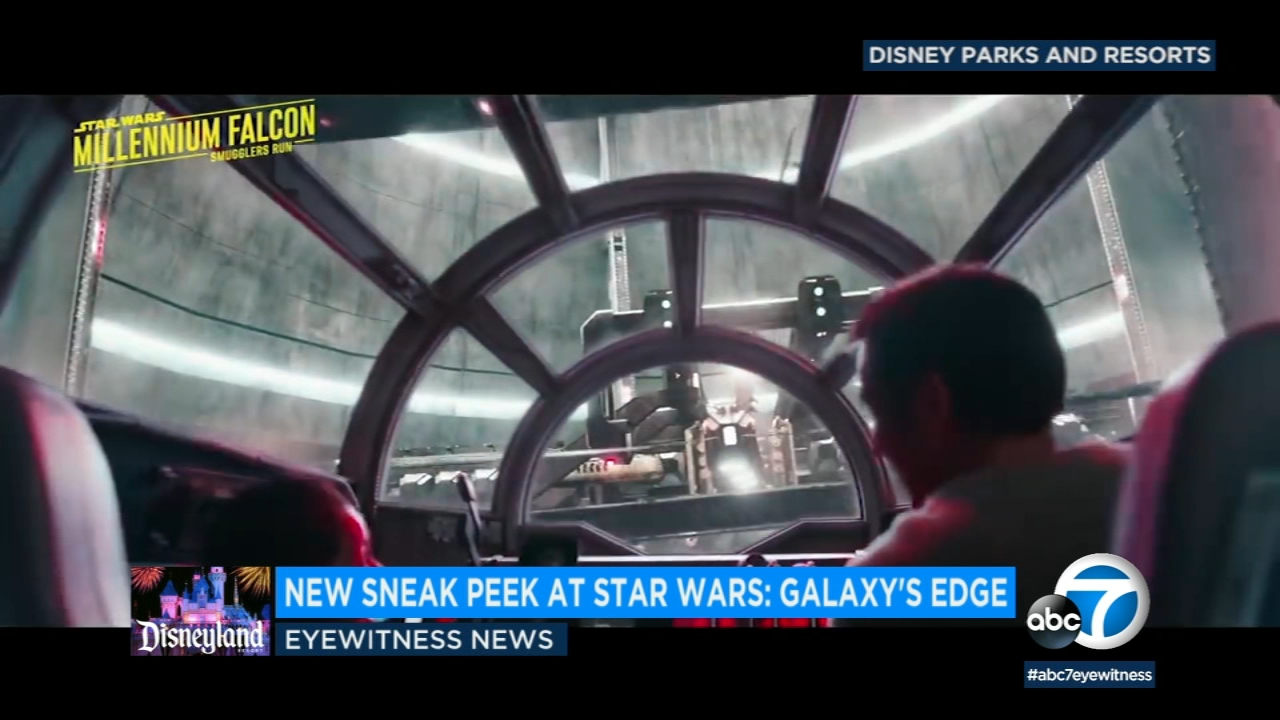 Disney Parks gave Star Wars fans a special Christmas present by releasing some behind-the-scenes footage of the franchise-themed lands at Disneyland and Walt Disney World.