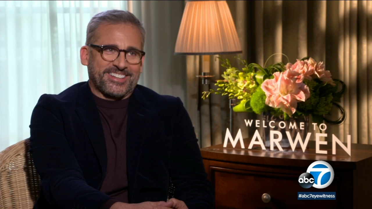 Steve Carell teamed up with director Robert Zemeckis to bring the fantasy filled true story Welcome to Marwen to life.