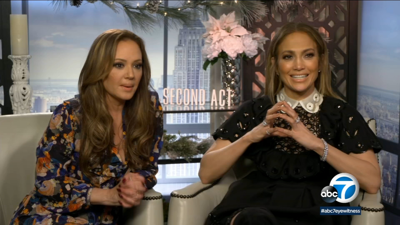 Jennifer Lopez and Leah Remini celebrate their long friendship by playing best pals in new comedy Second Act