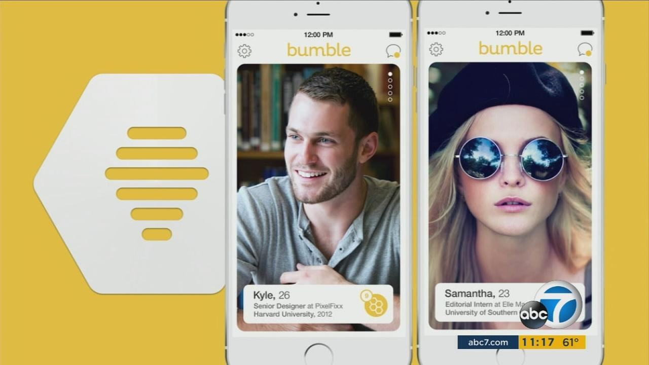 The Bumble mobile dating app is similar to other apps, but is putting the power in the hands of its female users.