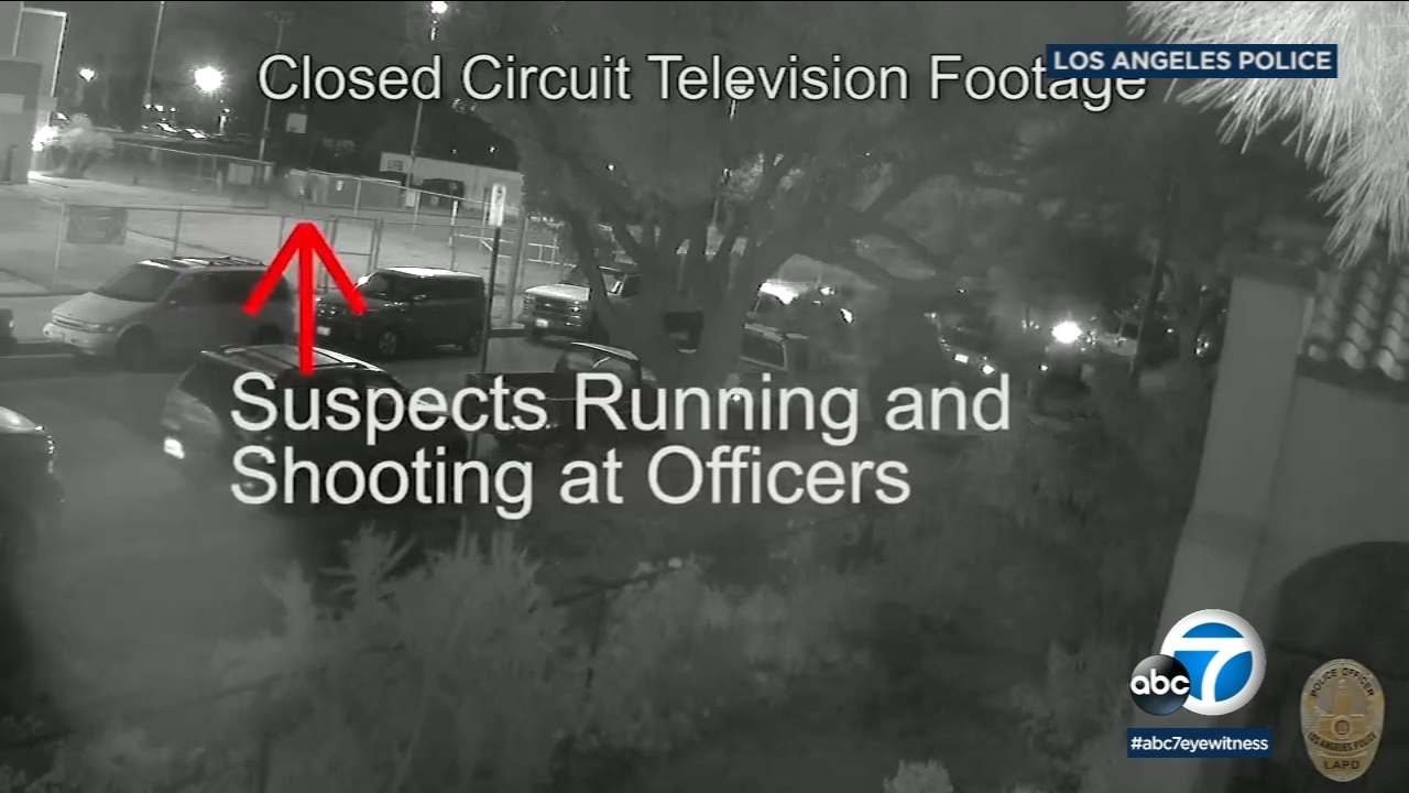 Police release dramatic footage of a November 2018 officer-involved shooting in the Harbor Gateway neighborhood of Los Angeles.