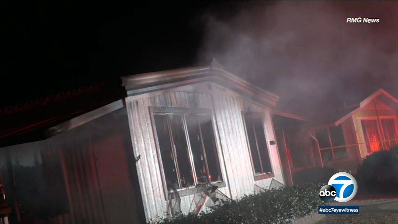 Two people are dead after a house fire in Hemet Saturday night.