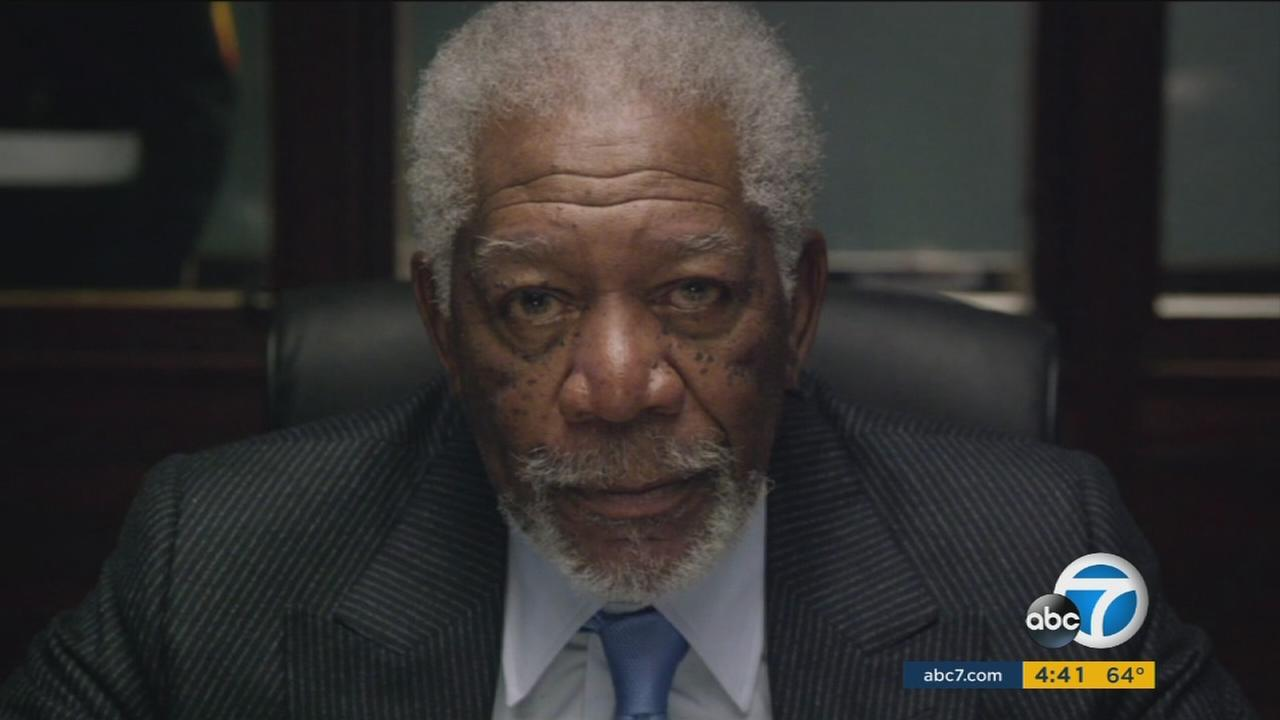Morgan Freeman plays the vice president in London has Fallen but has no interest in running for office.