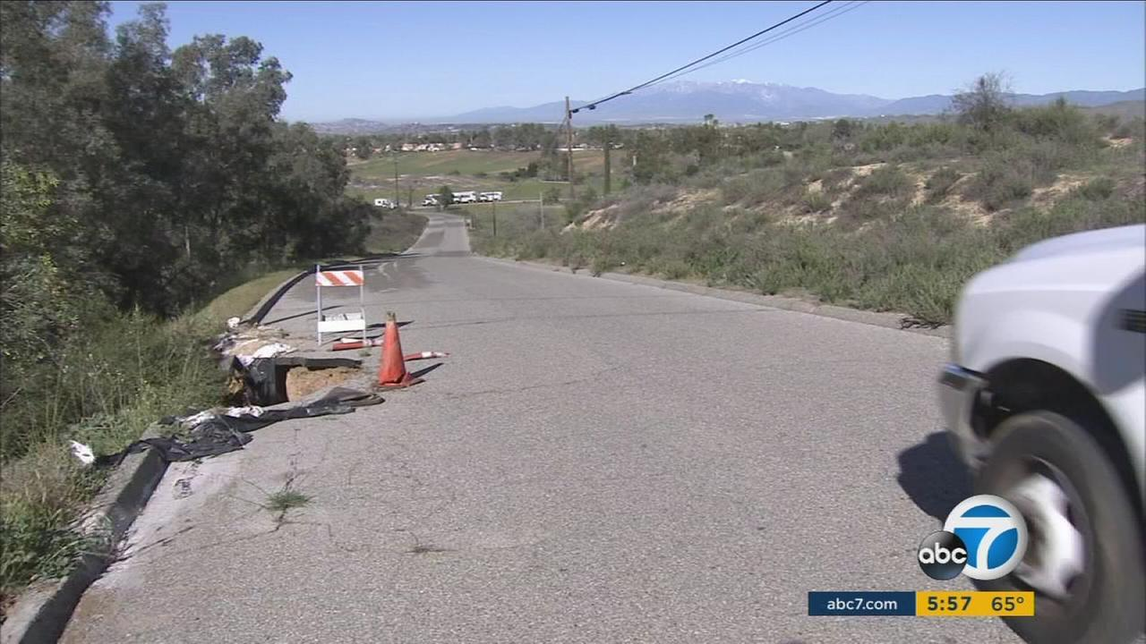 A fight between Calimesa residents and the city will finally lead to the repair of a crumbling road.