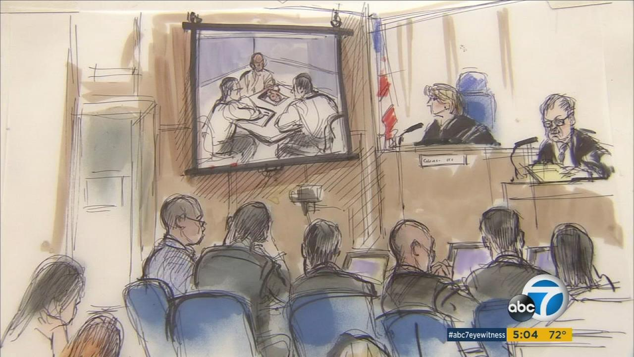 Testimony in the Grim Sleeper trial reviewed the LAPDs intense interrogation of suspect Lonnie Franklin Jr.