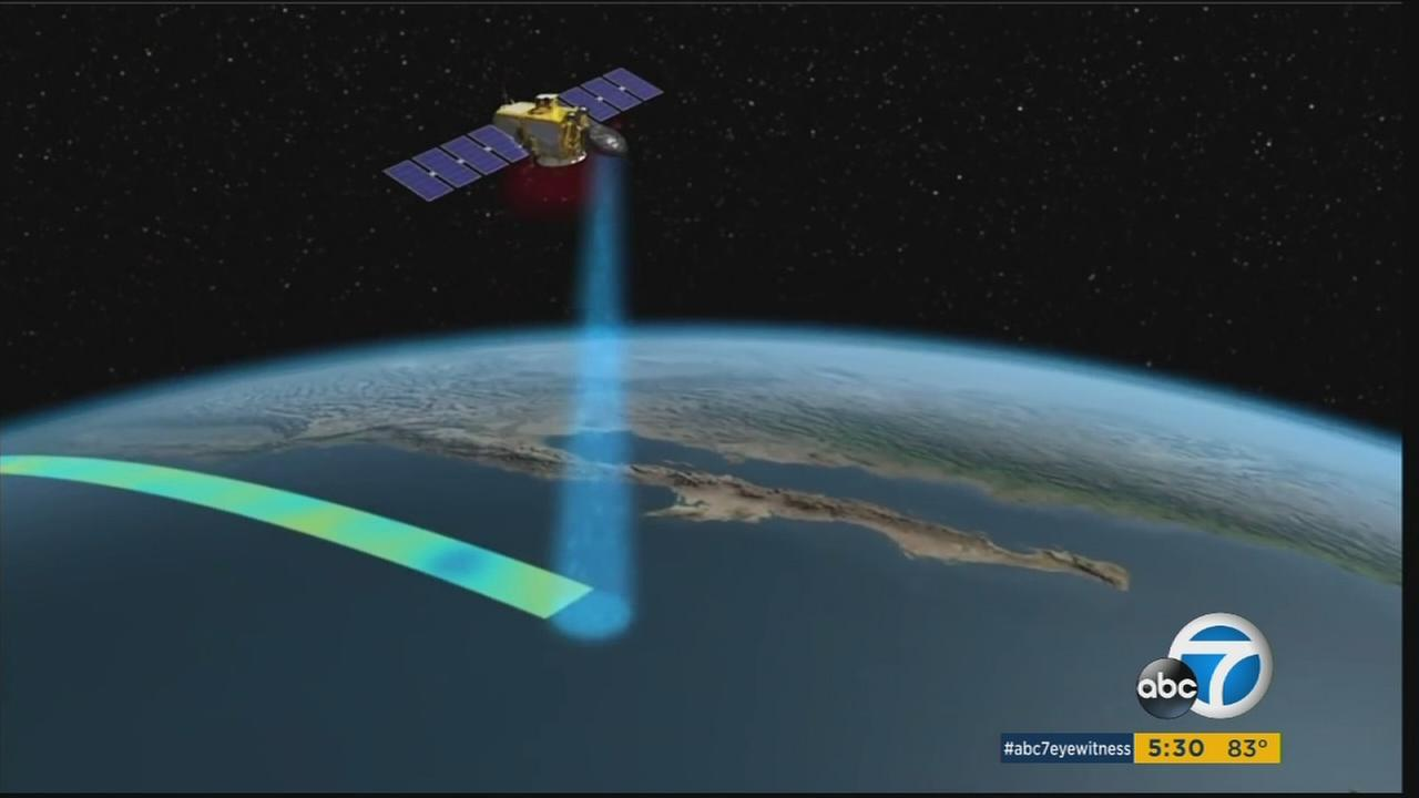 The Jason-3 satellite can measure the height of the oceans within an accuracy of one inch.