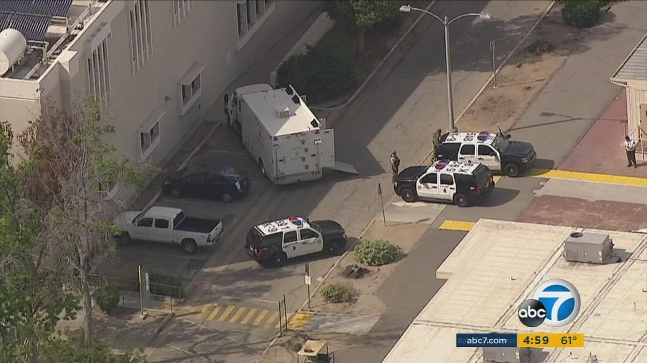 The Los Angeles Valley College campus had been evacuated Wednesday as law enforcement investigated a suspicious package.