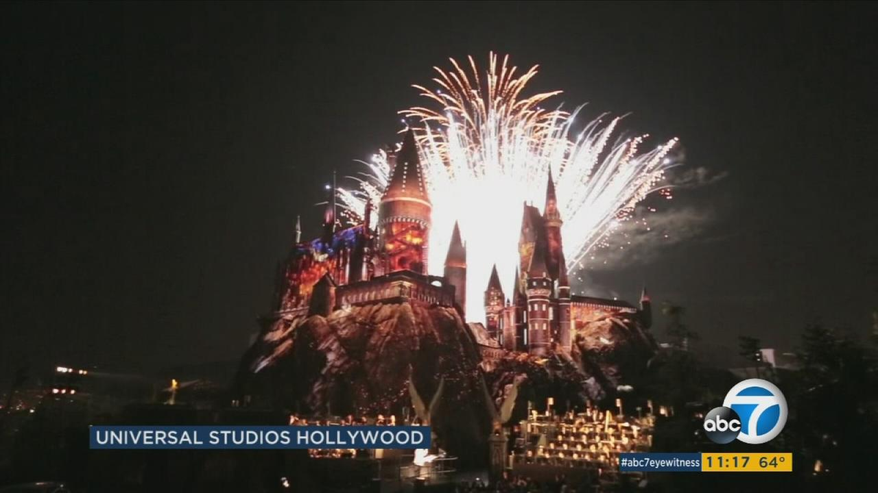 Universal Studios is opening its Harry Potter-themed attraction to the public on Thursday.