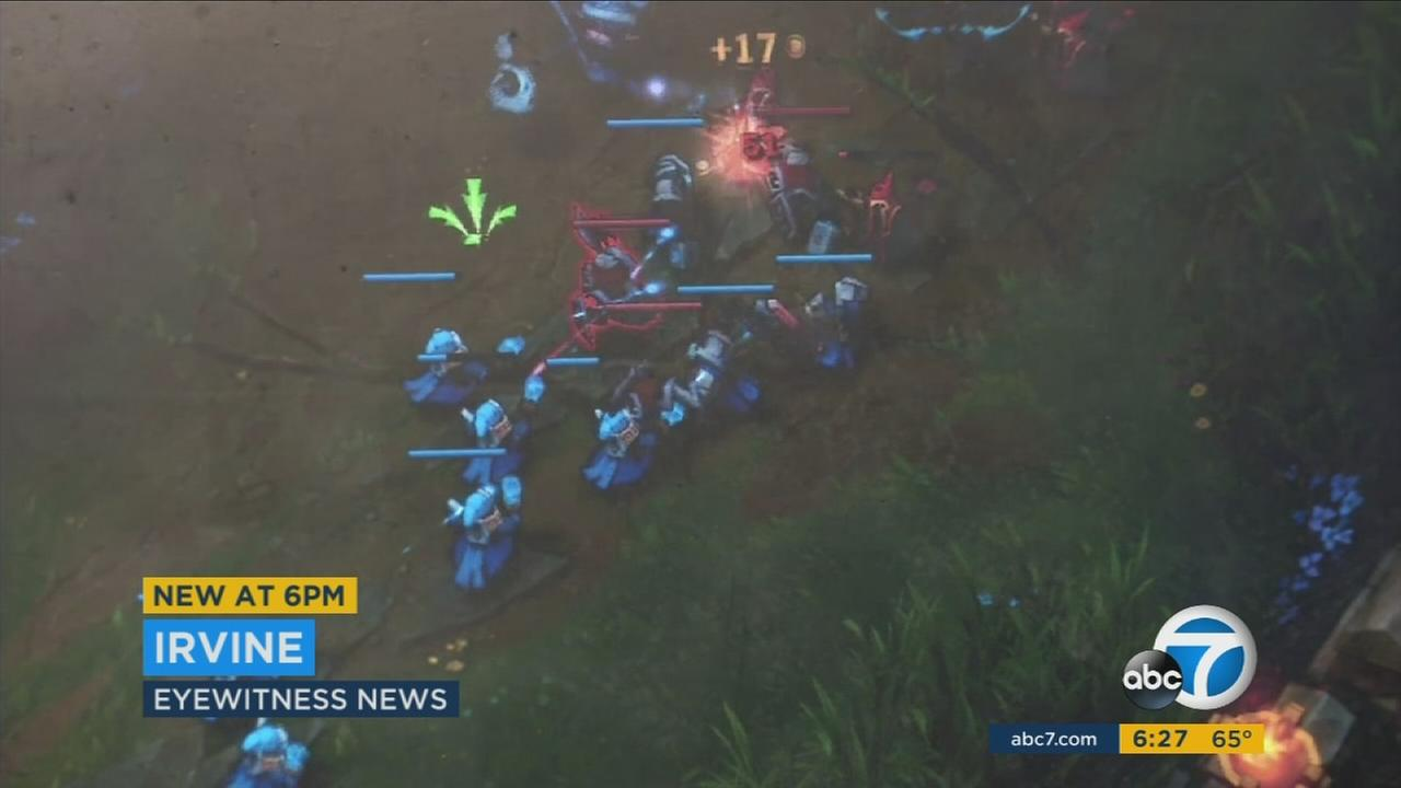 UC Irvine launched what it called the first eSports initiative at a public research university.