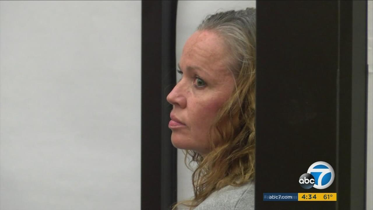 Bridal Bandit Denise Gunderson showed little remorse when she was sentenced to seven years behind bars in San Diego on Friday.