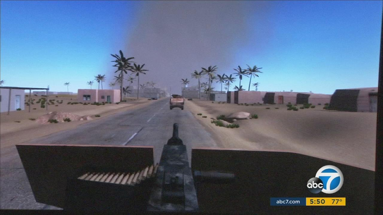 A new program developed at USC immerses vets in virtual-reality sights and even smells to relive - and recover from - PTSD.