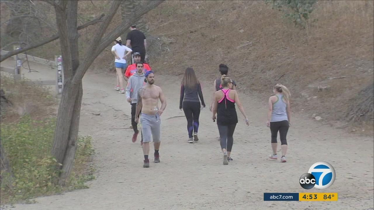 A group of residents living near Runyon Canyon are suing the city of Los Angeles in an attempt to stop the construction of a basketball court at the beloved park.