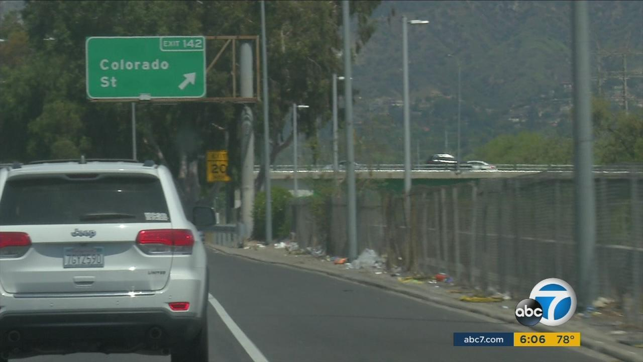 Caltrans said 9,500 garbage trucks were filled with trash from California roadways in 2015 at a cost of $76 million.