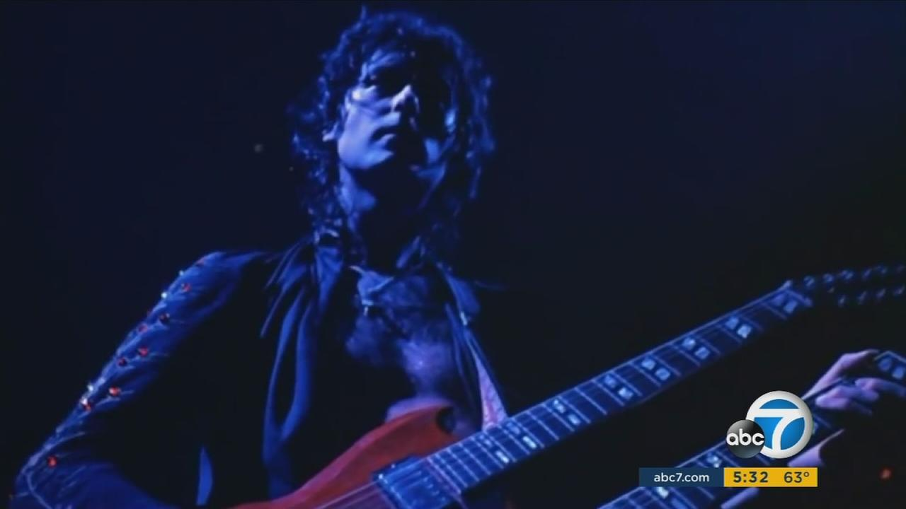 Guitarist Jimmy Page wrote the arpeggio opening to Stairway to Heaven that a lawsuit claims was partially lifted from another band.