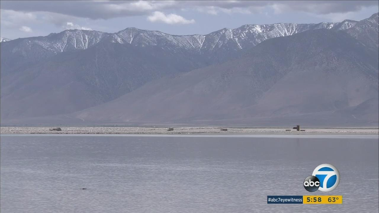 A generic photo of Owens Lake.