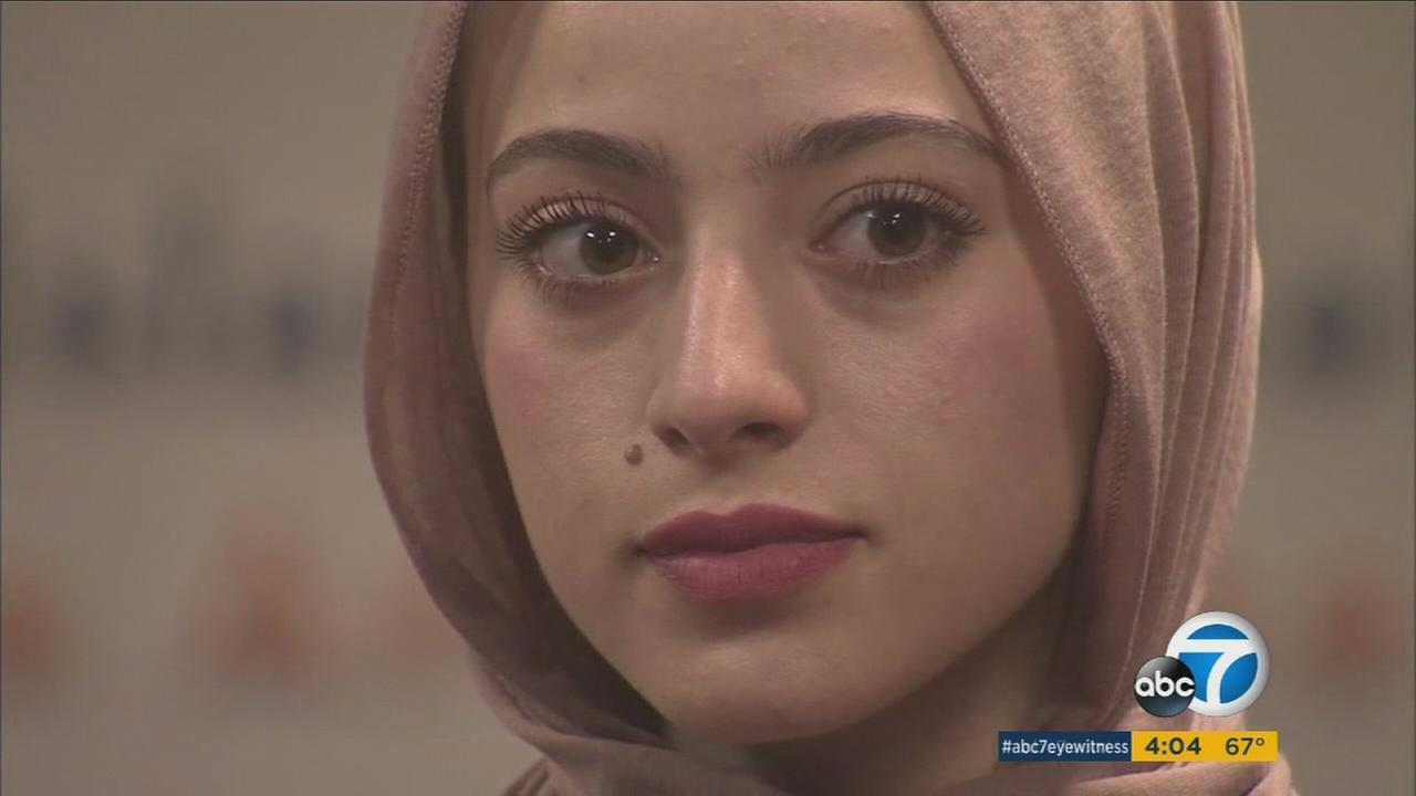 Bayan Zehlif, a junior at Los Osos High School, speaks out about the school misnaming her Isis Phillips in a yearbook.
