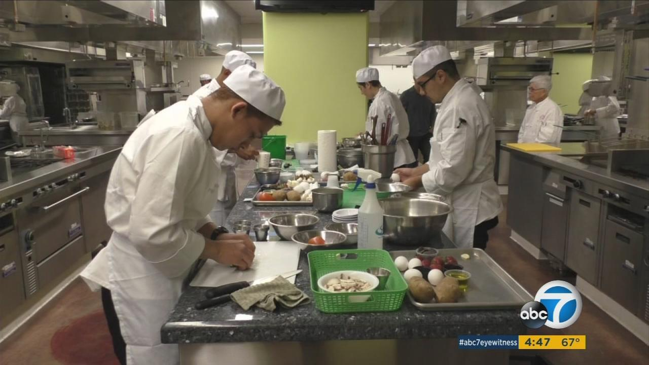 Thirty-three area high school seniors received money to attend higher education through the Careers through Culinary Arts scholarship program.