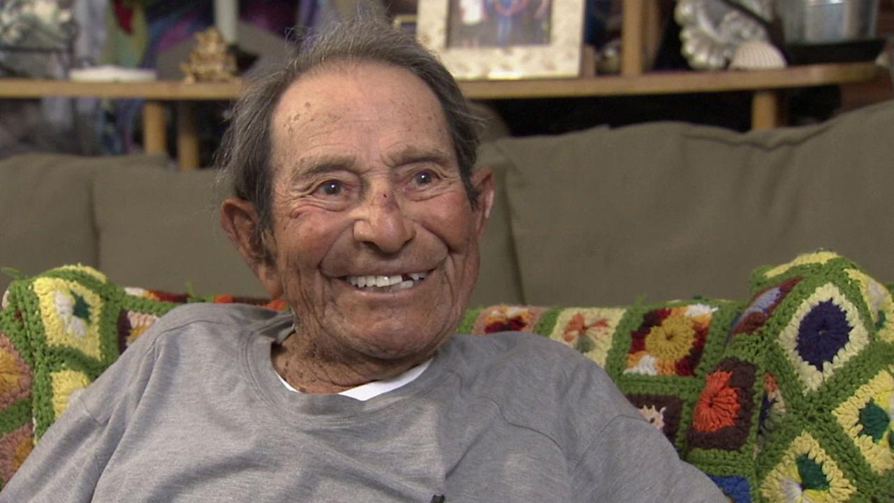 Alfonso Gonzales, 96, is shown in an undated photo.