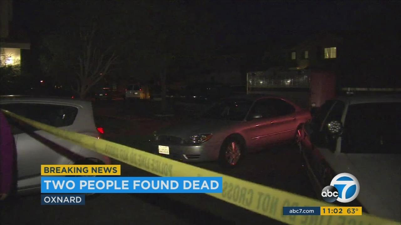 Two bodies were found in a house in Oxnard and police are treating the deaths as suspicious.