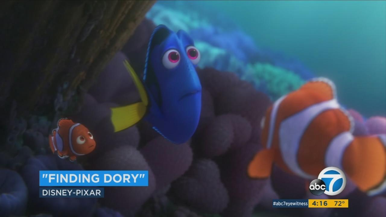 Ellen Degeneres returns as the forgetful fish, Dory, in this summers Finding Dory.