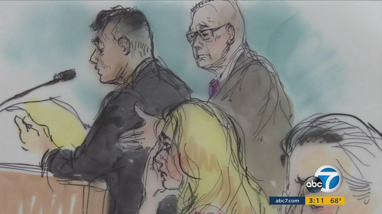 Former Los Angeles County Sheriffs Deputy Gilbert Michel was sentenced on Monday, June 13, 2016,  to six months in federal prison for accepting a bribe.