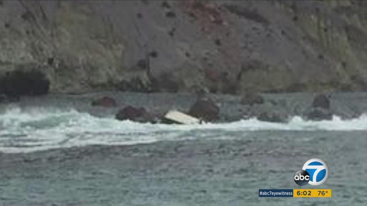 Three people died and four others were hospitalized after a boat capsized off the Catalina Island coast Saturday morning.