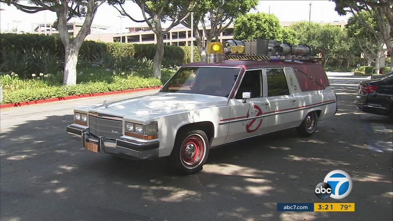 Lyft will offer Los Angeles customers free rides in a Ghostbusters Ecto-1 the first weekend in July.