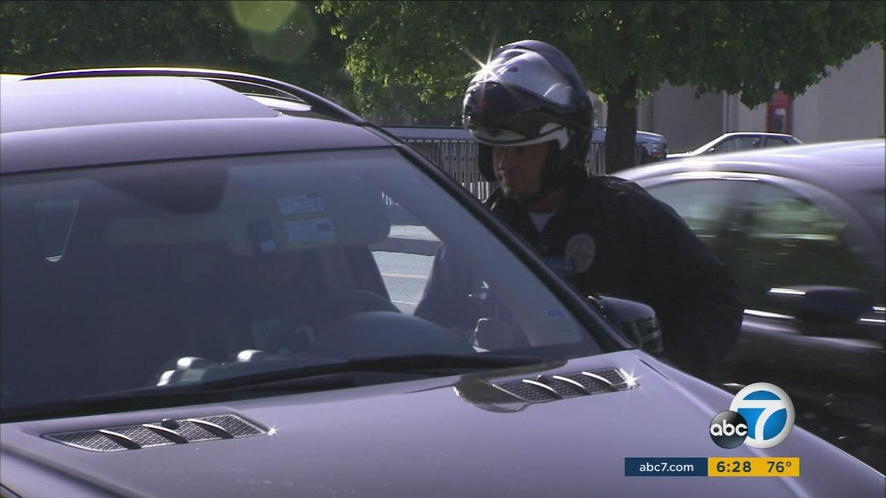 Hampered by a city backlog, the LAPD is handing out fewer speeding tickets, even as the number of fatal collisions has increased.