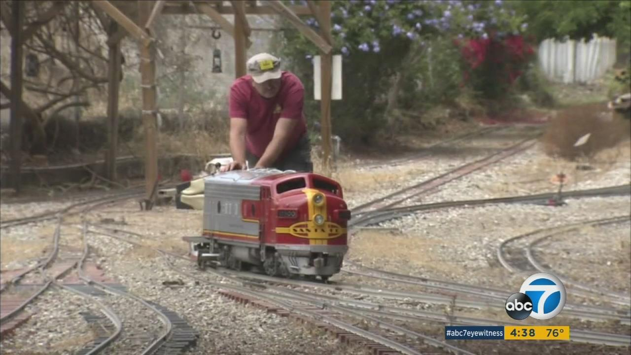 The nonprofit Southern California Live Steamers, which gives free miniature train rides to the public, has been hit over and over again by graffiti and vandalism.