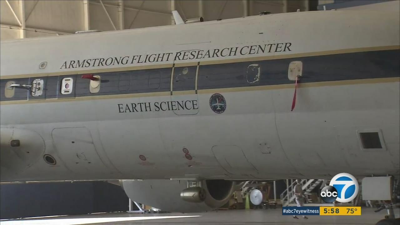 NASA plans to send a DC-8 aircraft around the world to collect data on the amount of pollutants in Earths atmosphere.