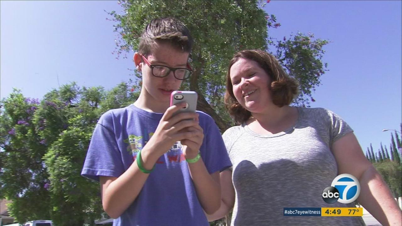 One Hacienda Heights family is praising Pokemon Go, saying it has brought the family together, especially a child with autism.