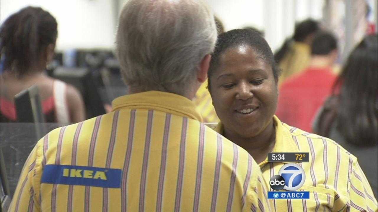 Ikea worker Lawanda Anderson is shown in this undated file photo.