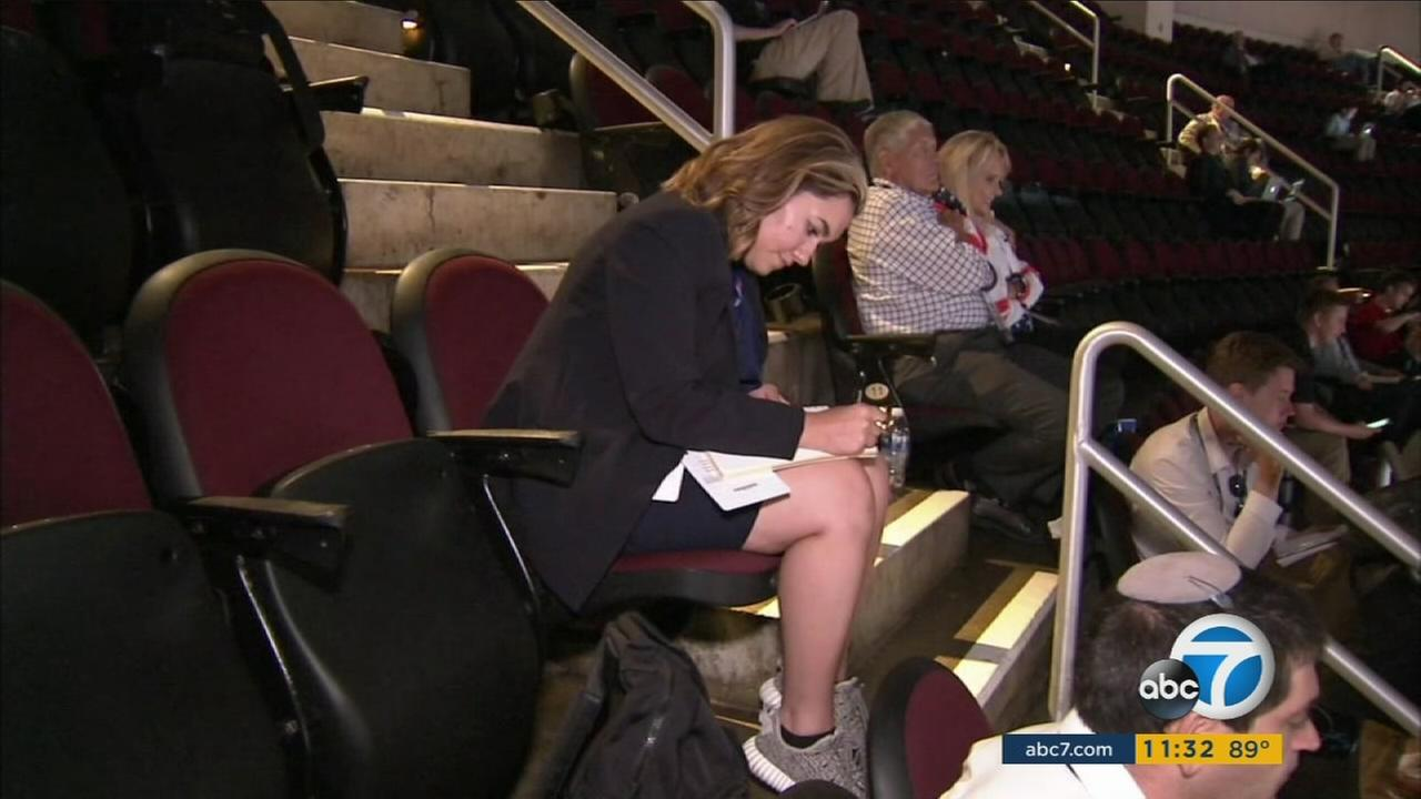 While the GOPs creme de la creme rallied their party ahead of the presidential election, a group of USC college students was getting special access inside the RNC.