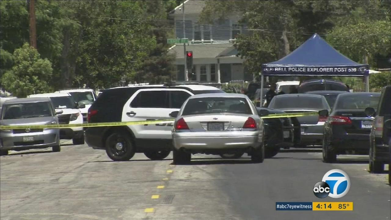 Los Angeles County Sheriffs Department homicide detectives are investigating the death of a woman whose body was found at a home in Bell.