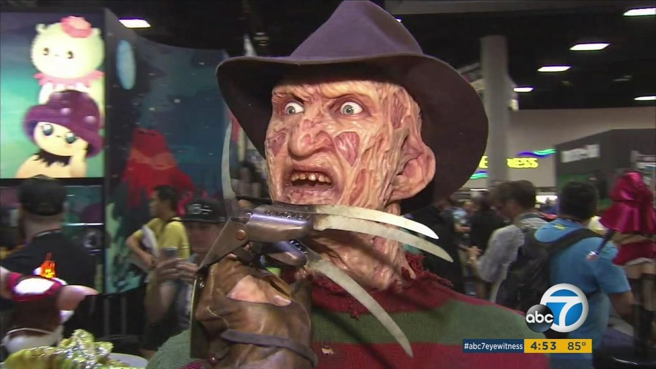 Countless costume-clad attendees swarmed the convention center in San Diego to attend the 46th annual Comic Con.