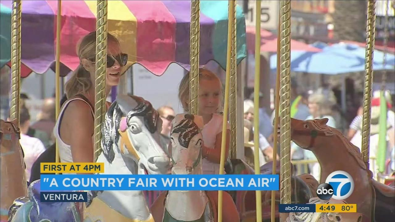 The Ventura County Fair, which runs through Aug. 14, is offering a range of comfort food, rides, live music and games.